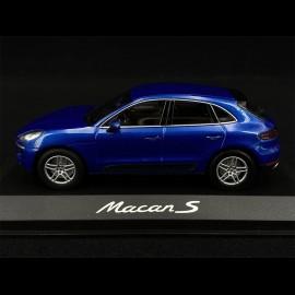 Porsche Macan S 2014 blau 1/43 Minichamps WAP0201530E