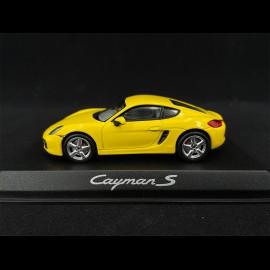 Porsche Cayman S 981 2013 gelb 1/43 Norev WAP0200310D