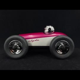 Vintage Racing Car Clyde n°3 Silberviolett Playforever PLCLY505