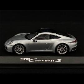 Porsche 911 typ 992 Carrera 2S Coupé 2019 Dolomit grau 1/43 Minichamps WAP0201700K