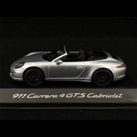 Porsche 991 Carrera 4 GTS Cabriolet silber 1/43 Schuco WAP0201030F