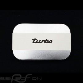 Porsche Seife Turbo mit metallischer Geschenkbox 80g Handwerkliche Produktion