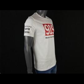 Porsche T-shirt 919 Mission : Future Sportscar Weiß Porsche WAP796F - unisex