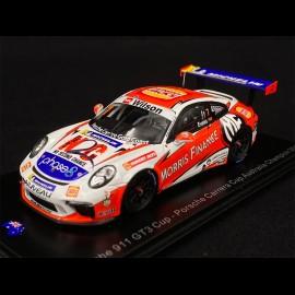 Porsche 911 Type 991 GT3 Cup n° 7 Sieger Carrera Cup Australia 2018 1/43 Spark AS032
