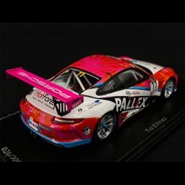 Porsche 911 Type 991 GT3 Cup Sieger Carrera Cup Great Britain 2018 1/43 Spark UK004