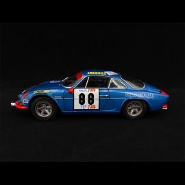 Alpine A110 1600S n° 88 Sieger Rallye Portugal 1971 1/18 Solido S1804202