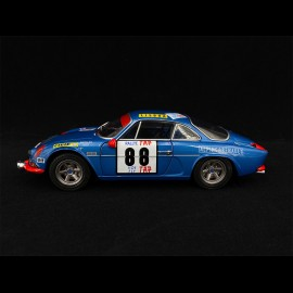 Alpine A110 1600S n° 88 Winner Rally of Portugal 1971 1/18 Solido S1804202