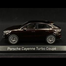 Porsche Cayenne Turbo Coupe 2019 Mahogany Braun 1/43 Norev 750061