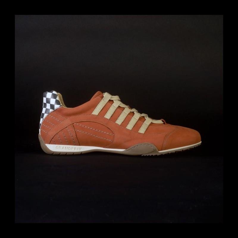 Sneaker / Basket Schuhe Style Rennfahrer orange - Herren