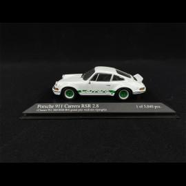 Porsche 911 2.8 Carrera RSR weiß Grand Prix 1/43 Minichamps 430736908