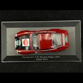 Porsche 911 S n° 7 Bavaria Rallye 1970 1/43 CMR WRC014