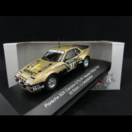 Porsche 924 Carrera GTS n° 1 Sieger Rallye Hessen 1981 1/43 CMR WRC015