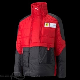 Ferrari Jacket Padded Anorak Style Red / Black Scuderia Ferrari Race Collection by Puma - men