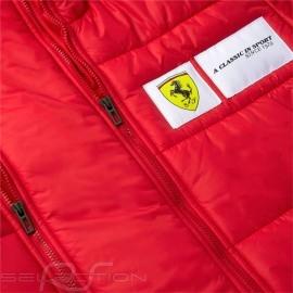 Ferrari Jacke Gesteppt Anorak-Stil Rot / Schwarz Scuderia Ferrari Race Collection by Puma - Herren