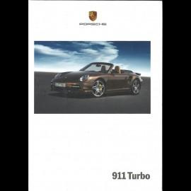 Porsche Broschüre 911 Turbo 04/2007 in Französisch WVK23013008