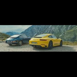 Porsche Broschüre Nouvelle 911 type 991 Carrera T The unfiltered Truth 10/2017 in Englisch WSLC1801000220