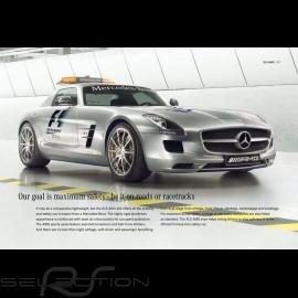 Mercedes Broschüre SLS AMG Coupé et SLS AMG Roadster 2011 10/2011 in Französisch MESS4003-01
