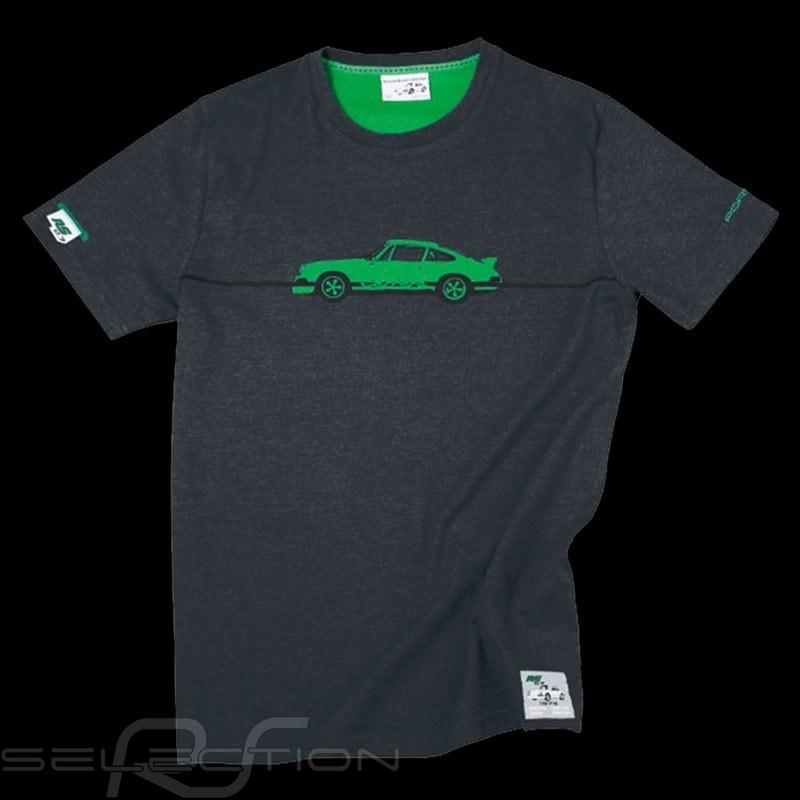 Porsche T-shirt Carrera RS 2.7 Collection Graumeliert WAP951G - unisex