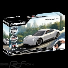 Porsche Mission E weiß mit Rex Dasher Charakter Playmobil 70078