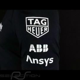 Porsche T-shirt Motorsport 4 Hugo Boss Tag Heuer Schwarz WAP128NFMS - Herren