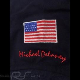 Gulf Racing Steve McQueen Le Mans n° 20 Polo Marineblau - Damen