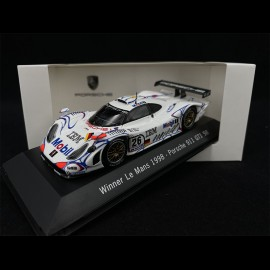 Porsche 911 GT1 Sieger Le Mans 1998 n° 26 1/43 Spark MAP02029813