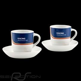 Set von 2 expresso tasse Porsche 956 Rothmans Racing Design Limited Edition WAP0504020NRTH