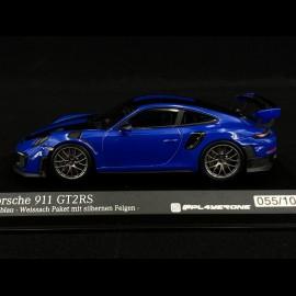 Porsche 911GT2 RS Clubblau 2018 1/43 Minichamps 413067241