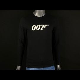 Langarm-T-Shirt James Bond 007 Schwarz H21125 - Herren