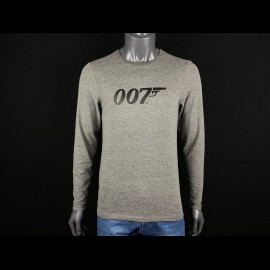 Langarm-T-Shirt James Bond 007 Grau H21125 - Herren