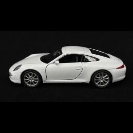 Porsche 911 Type 991 Spielzeug Reibung Welly Weiß MAP01006720