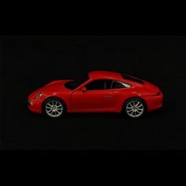 Porsche 911 Type 991 Spielzeug Reibung Welly rot MAP01006820