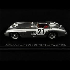 Mercedes - Benz 300 SLR n° 21 24h Le Mans 1955 1/43 Spark S4735