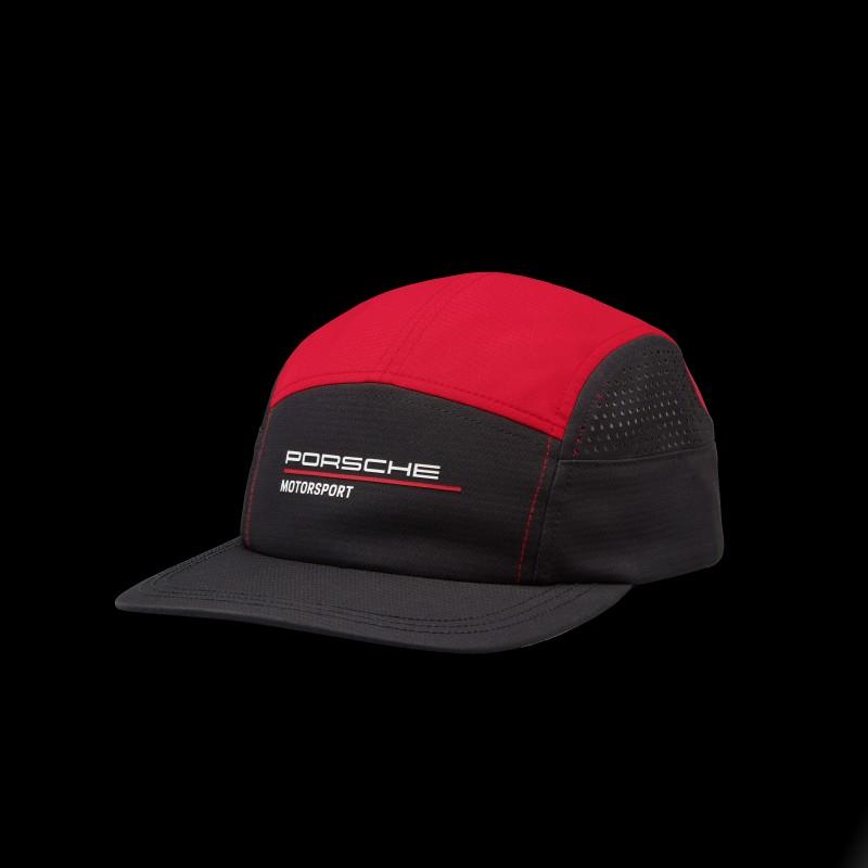 Porsche Cap Motorsport 4 Perforierte Schwarz / Rot 701210882