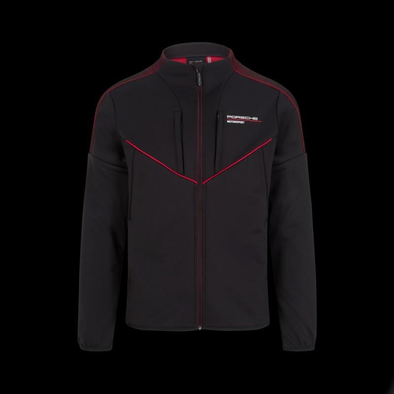 Porsche Jacke Softshell Motorsport 4 Collection Schwarz WAP120NFMS - Herren