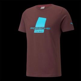 T-shirt Porsche Targa Puma Carmona Rot / Himmelblau - Herren 531961-03