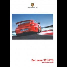 Porsche Broschüre 911 GT3 12/2008 auf Deutsch WSL0901123710