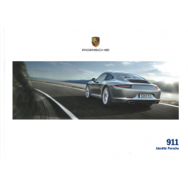 Porsche Broschüre 911 Identität Porsche 03/2015 auf Französisch WSLC1601000130