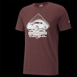 T-shirt Porsche 911 Targa Puma Carmona Rot / Weiß - Herren 531963-03