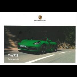 Porsche Broschüre 718 11/2020 auf Englisch WSLN2101003620