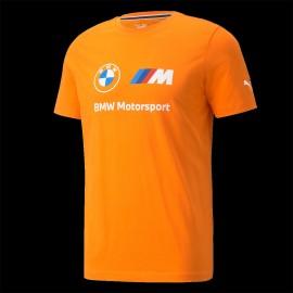 T-shirt BMW Motorsport Essential Logo Tee Puma orange 532253-05 - Herren