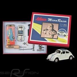 VW Käfer n° 53 Herbie Vintage Bausatz Set Weiß Micro Racer Schuco 450177800