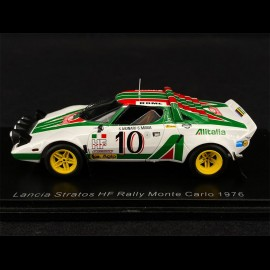 Lancia Stratos HF n° 10 Rallye Monte Carlo 1976 1/43 Spark S9082