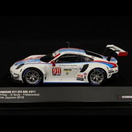 Porsche 911 GT3 RSR N° 911 24h Daytona 2019 1/43 IXO LE43050