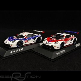 Duo Porsche 911 RSR Type 991 n° 911 & 912 12h Sebring 2020 1/43 Spark WAP0200100N0FW-WAP0200110N0FW