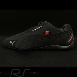 Porsche Targa Puma Speedcat Sneaker / Basket Schuhe - Schwarz / Rosa - Herren