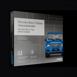 Mercedes Adventskalender Mercedes - Benz G Klasse blau 1/43 Franzis 67121