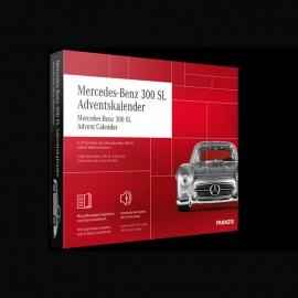 Mercedes Adventskalender Mercedes - Benz 300 SL silber 1954 1/43 Franzis 67129