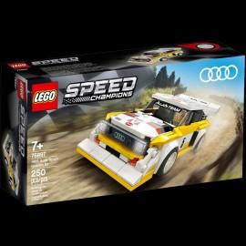 Audi Quattro Sport S1 1985 Speed Champions Lego 76897