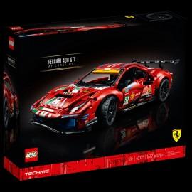 Ferrari 488 GTE AF Corse n° 51 Lego Technic 42125